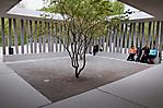 Sitzgelegenheiten im Besucherzentrum