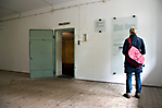Zugang zur als Brausebad getarnten Gaskammer