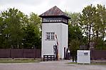 ehem. Wachturm mit Lagerzaun und Lagermauer