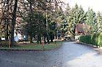 Eingangsbereich beim Friedhof