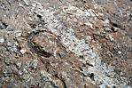 Spuren von Stahlsohlen