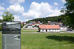 Blick in Wohnsiedlung im Bereich der ehem. Unterkunftsbaracken