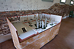 Modell des Museums in Carpi