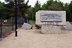 Gedenkstein beim Steinbruch