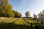 Ehrenfriedhof mit Mahnmal im ehem. Bereich der Wachmannschaften