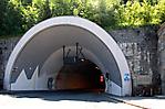 Eingang zum Loibltunnel