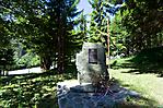 Gedenkstein für Opfer der Kämpfe des Jugoslawien-Krieges