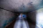 Blick in die ehem. Gaskammer in der Badebaracke