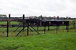 Teils des ehem. Häftlingslager nach einem Brand 2010