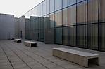 Hof des Besucherzentrums