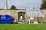 Renovierungsarbeiten an der ehem. Lagermauer