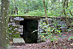 Überreste im Wald