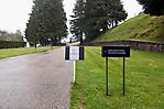 Weg zum ehemaligen Häftlingslagerbereich