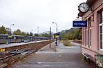 Bahnhof Rothau, ehem. Ankunftsort der KZ-Häftlinge