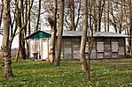 Wiederaufgebautes Plattenhaus (Behelfswohnheim, 1944)