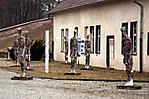 Bronzestatuen vor dem ehem. Wasserwerk