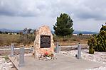Gedenkstein für die spanischen Internierten