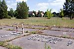 Blick über den ehem. Exerzierplatz ... (Juni 2011)