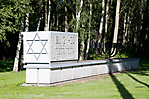 Denkmal im Bereich des ehem. jüdischen Lagers