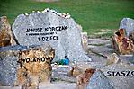 einziger personalisierter Gedenkstein für Janusz Korczak