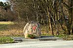 Gedenkstein beim ehemaligen Lagergelände