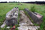 Majdanek - Reste einer Latrine