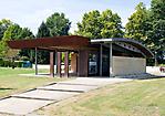 Empfangsgebäude Gurs (eröffnet 2005)